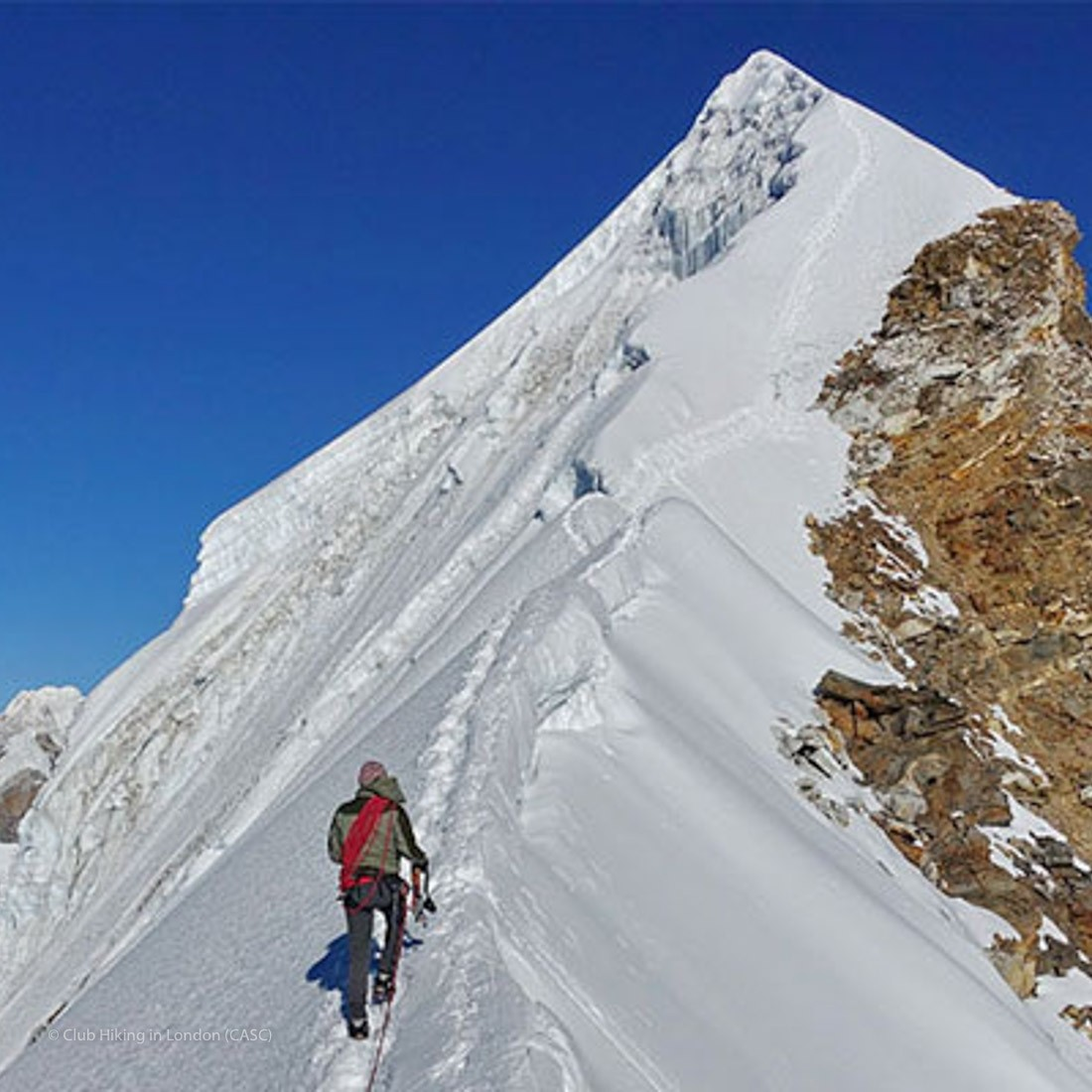 EBC With Labuche Peak