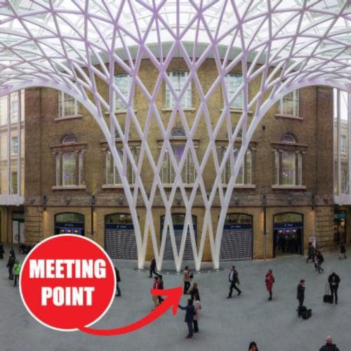 MEETING POINT: We'll meet at King Cross Station at 9:00am